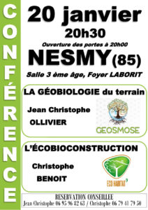 conferences geobiologie
